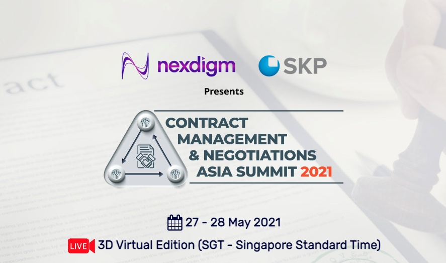 Contract management and Negociations Asia summit 2021